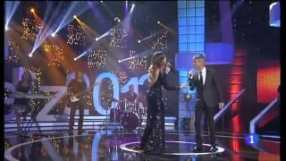 Sergio Dalma y Leire Martínez La cosa más bella Gala