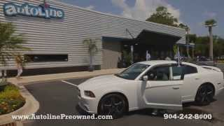 Autoline Preowned 2013 Dodge Charger SXT Walk Around Review Test Drive Used For Sale Jacksonville