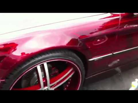 BMW 740il on 4s and Candy