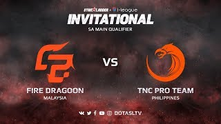 Fire Dragoon против TNC Pro Team, Вторая карта, SEA квалификация SL i-League Invitational S3