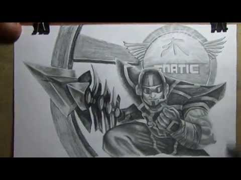 Fnatic Jarvan Drawing by Dani