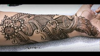 Floral Mehndi Design For Full Hand  Mehndiartistica Intricate Henna Mehendi# 1000 +Click For Best Mehndi CONES http://amzn.to/2tv0G6tMehndi Book http://amzn.to/2uXN6XmClick For Indian Bridal Saree/Wedding Saree http://amzn.to/2tv4ODtif you have any request just comment down below... email id: mehndiartistica@gmail.comFb Page: https://m.facebook.com/MehndiArtisticaInstagram: MehndiArtisticaproTwitter MehndiArtisticaYoutube: https://www.youtube.com/user/MehndiArtisticaLearn beautiful DIY henna/mehndi design in this tutorial.its specially made for Eid 2017 mehndi designs, Diwali 2017 mehndi designs, bridal mehndi designs, and all party mehndi designs...I always try to make latest mehndi designs and new mehndi designs and simple mehndi designs for beginners...hope you all are doing well...So, here is my new and latest Mehndi design Tutorial for you all, do watch and enjoy.I upload most famous mehndi designs on youtube.I am best mehndi/henna designer in India.I make Arabic mehndi designs, Indian mehndi designs, Pakistani mehndi designs, intricate mehndi designs, mandala mehndi designs, ornamental, jewelry, gulf, egyptian, etc.., so you will find best  mehndi/henna designs on my channel, MehndiArtisticaThis Mehndi Pattern is for modern bride, it's a full hand intricate Mehendi design hope you guys will appreciate it :)Mehndi, the ancient art of painting on the skin with henna, beautifies the body, rejuvenates the spirit, and celebrates the joys of creativity and self-expression :)Mehndi, the ancient art of painting on the skin with henna, beautifies the body, rejuvenates the spirit, and celebrates the joys of creativity and self-expression.THANKS ! LOVE YOU ALL :)