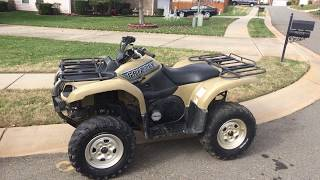5. Yamaha Grizzly 660 Review