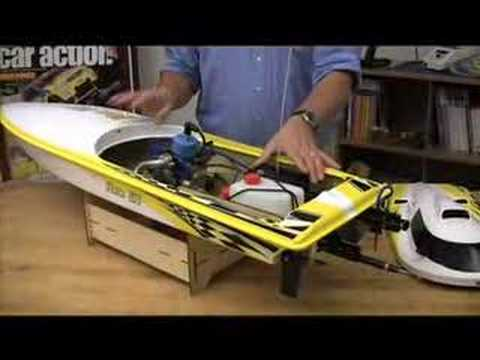 Huge RC Gas Boat