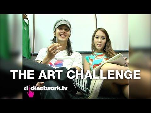 The Art Challenge - Chick vs. Dick: EP5 (видео)