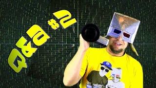 Chwytak - Q&A #2 (Chwytakowy hełm, Barman i kamery) [ ChwytakTV ]