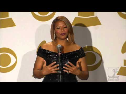 Queen Latifah on Marriage Equality in GRAMMY press room