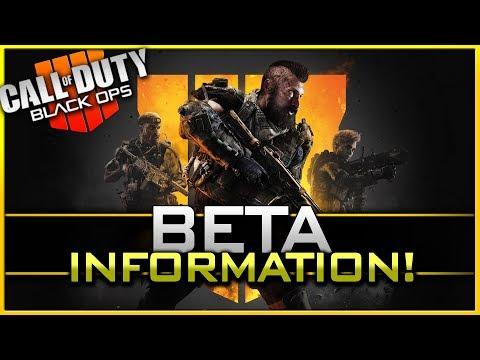 Black Ops 4 Beta Information! (Dates, Maps, Modes, & Blackout!)