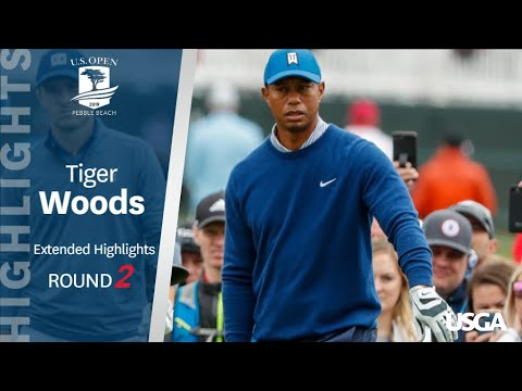 2019 U.S. Open, Round 2: Tiger Woods Extended Highlights