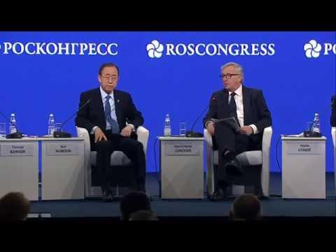 Υπερασπίζεται την επίσκεψή του στη Ρωσία ο Γιούνκερ