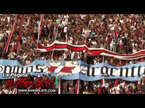 """Video - """"No le falles a tu hinchada"""" - Hinchada de River Plate, Argentina - Los Borrachos del Tablón - River Plate - Argentina"""
