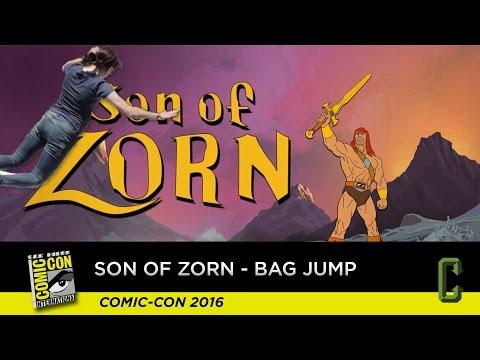 Son Of Zorn - Bag Jump With Perri - San Diego Comic-Con 2016