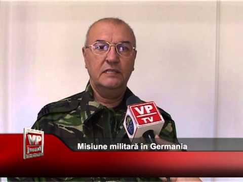 Misiune militară în Germania