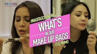 Video WHAT'S IN OUR MAKE UP BAGS - FEAT MOMO #NAGITASCORNER MP3, 3GP, MP4, WEBM, AVI, FLV November 2018
