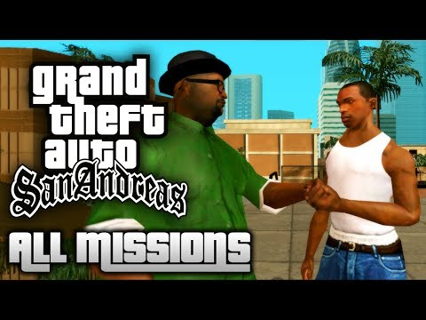 GTA San Andreas - All Missions Walkthrough (1080p 50fps) (видео)