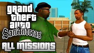 GTA San Andreas - All Missions Walkthrough (1080p 50fps)