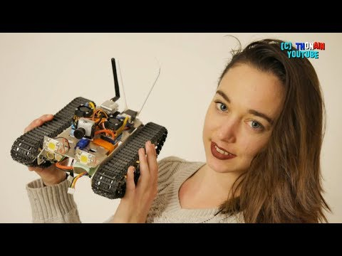 RC ROBOT CHENILLE - FPV....ONLY FOR MEN ?? DIY CAM ONBOARD