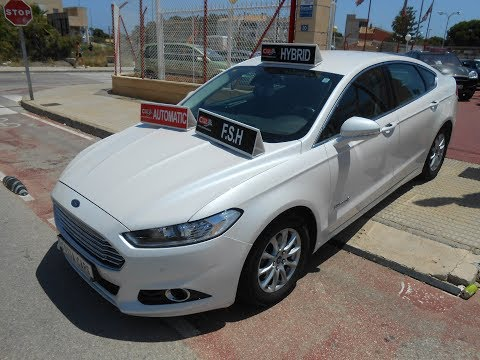 See video Ford NEW MONDEO HYBRID AUTO TITANIUM