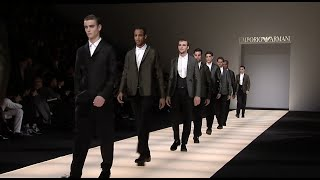 Emporio Armani - 2015  Winter Menswear Collection