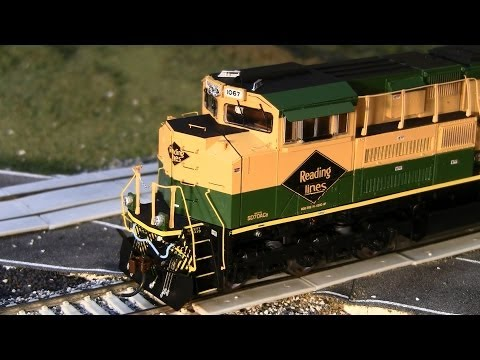 Athearn HO Scale NS Heritage SD70ACes Review