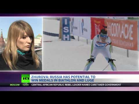 'Sochi Games will be the best Olympics ever' – speed skater Zhurova