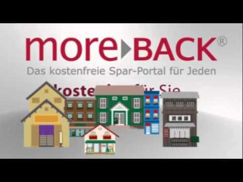 Video of moreBACK kostenlose Gutscheine