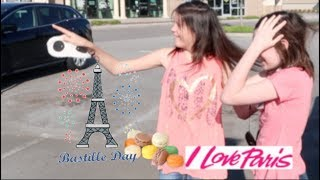 Join us as we celebrate a birthday with a surprise at a French cafe on France's National Bastille Day!!! We sample Crepe's...