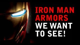 Avengers 2 - Iron Man 3 New Armors