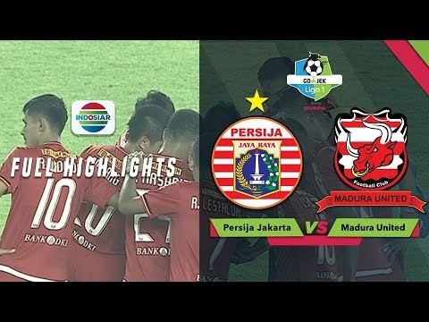 PERSIJA JAKARTA (0) vs MADURA UNITED (2) - Full Highlights | Go-Jek LIGA 1 bersama Bukalapak