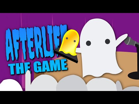 GHOSTEST WITH THE MOSTEST - Afterlife: The Game (All Endings)