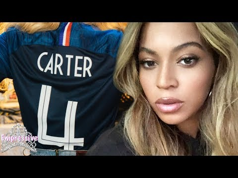 Beyonce hints at being pregnant. Baby number 4 is on the way?