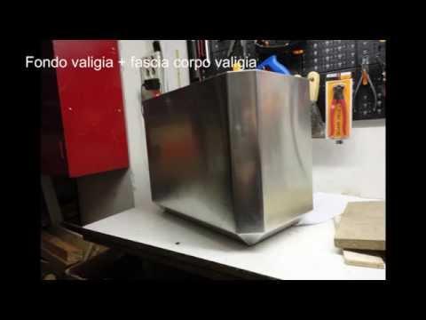 Valigie laterali moto in alluminio autocostruite