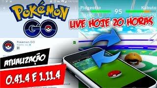 Pokémon GO Atualização 0.41.4 + Aviso Live + Resultado Sorteio by Pokémon GO Gameplay
