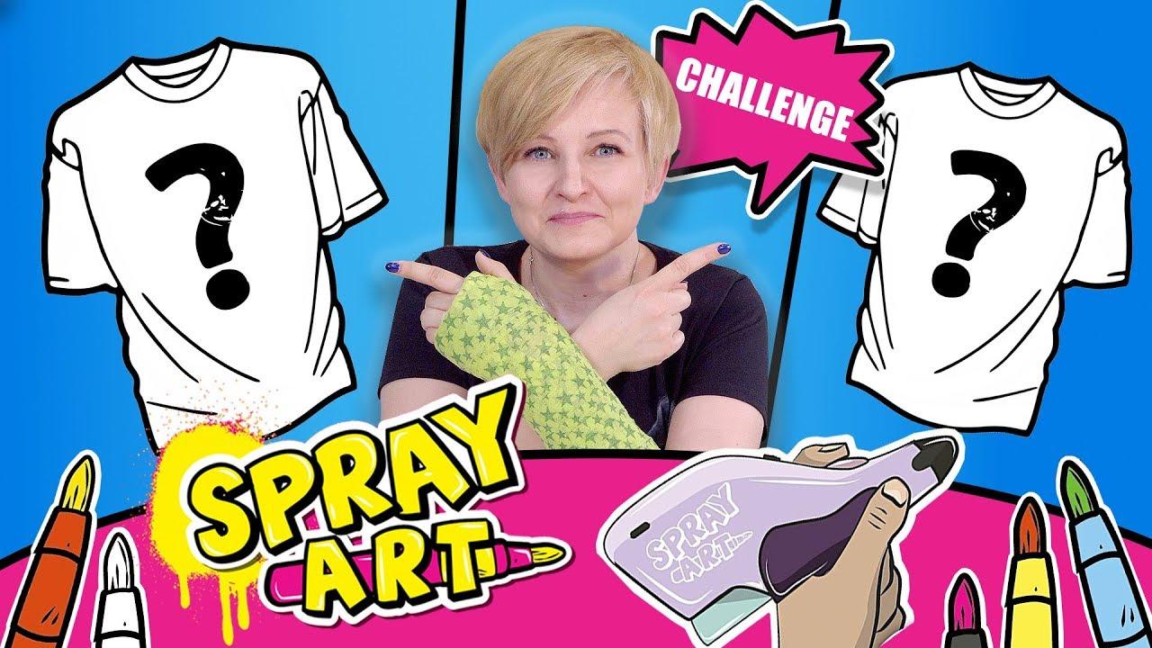 Spray Art, Cobi - CHALLENGE Koszulkowy z głosowaniem