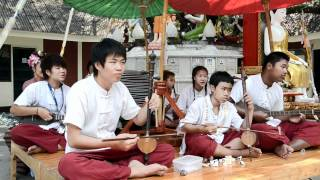Traditional Thai Music In The Street 2