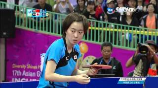 2014 Asian Games WT-F/2nd: LIU Shiwen - ISHIKAWA Kasumi [HD] [Full Match/Chinese]