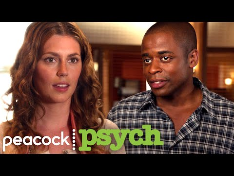 Gus Meets His Crush| Psych
