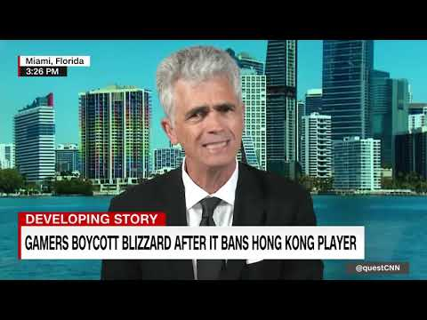 Gamers boycott Blizzard after it bans Hong Kong player