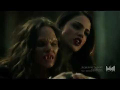 From Dusk Till Dawn   Santanico's Vampire Strength & Fighting Skills