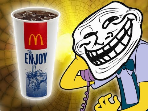 McDonalds Semen Coke – Prank call – (How to get a free meal)