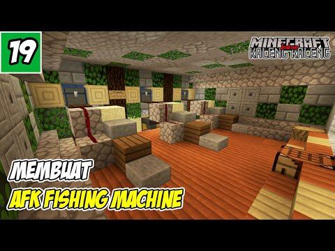 Tempat Mancing Terkece Di Dunia - Minecraft PE Survival Indonesia #19