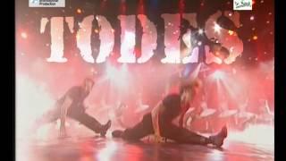 """פרסומת טלוויזיה למופע של להקת """"טודס"""""""