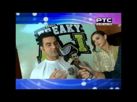 Interaction with the star cast of the film 'FREAKY ALI'
