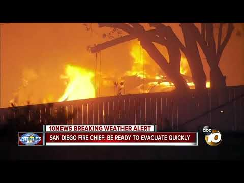 SD Fire Chief: be ready to evacuate quickly