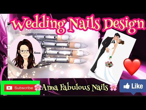 Diseños de uñas - Wedding Nails Design