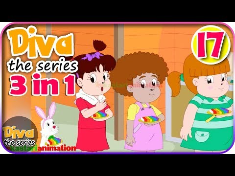 Seri Diva 3 in 1 | Kompilasi 3 Episode ~ Bagian 17 | Diva The Series Official