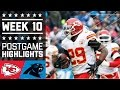 Chiefs vs. Panthers | NFL Week 10 Game Highlights