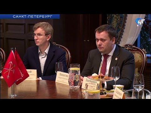 Андрей Никитин и бизнесмены Северо-Запада поговорили об экономике, привлечении инвестиций и новгородских дорогах
