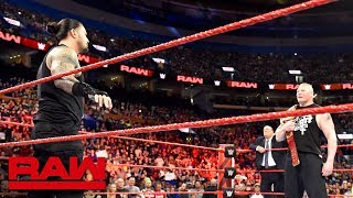Nonton Roman Reigns And Brock Lesnar Meet Before The Greatest Royal Rumble Event  Raw  April 23  2018 Film Subtitle Indonesia Streaming Movie Download
