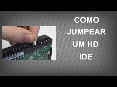 Como Jumpear um HD IDE